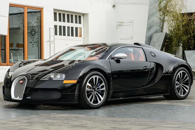 內斂高雅版本 : Bugatti Veyron Sang Nior 稀有釋出! - G7 車庫七號