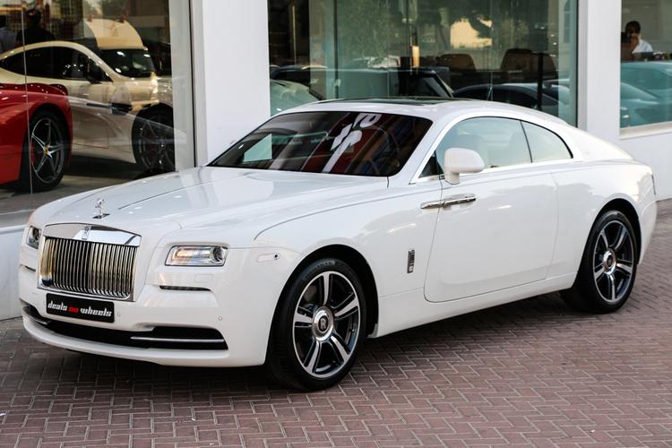 全球缺車最速天使 : 2014 Rolls-Royce Wraith 杜拜白色現車出售中! - G7 車庫七號