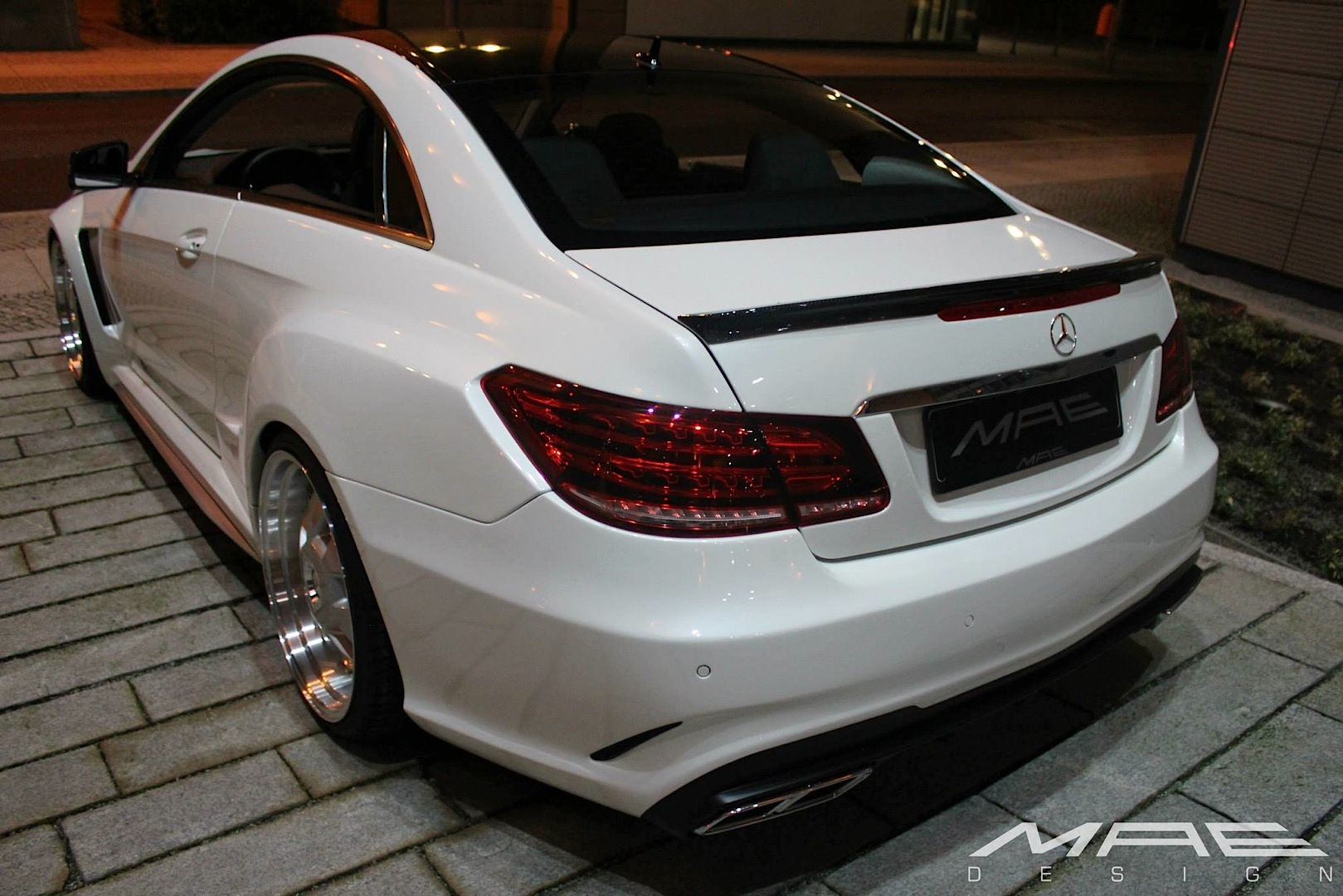 高檔寬車體風格 Mae Design Mercedes Benz E Class Coupe G7 車庫柒號