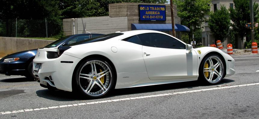 阿肯愛馬精裝現身: Ferrari 458 Italia Avorza Edition - G7